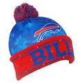Buffalo Bills NFL Camouflage Light Up Printed Beanies