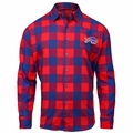 Buffalo Bills NFL Checkered Men's Long Sleeve Flannel Shirt