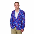 Buffalo Bills NFL Ugly Business Sport Coat Repeat Logo by Forever Collectibles
