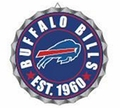 Buffalo Bills NFL Wall Decor Bottlecap Collection by Forever Collectibles