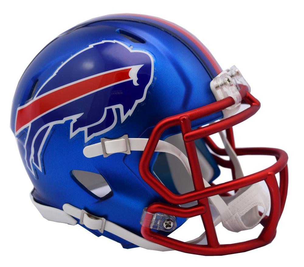 buffalo bills riddell blaze alternate speed mini helmet