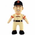 "Buster Posey (San Francisco Giants) Tan Jersey 10"" MLB Player Plush Bleacher Creatures"