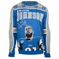 Calvin Johnson #81 (Detroit Lions) NFL Player Ugly Sweater