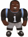"Cam Newton (Carolina Panthers) 24"" NFL Plush Studds by Forever Collectibles"