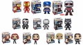 Captain America 3 (Civil War) Complete Set (10) Funko Pop!