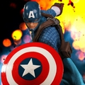 Captain America One:12 Collective by Mezco