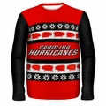 Carolina Hurricanes NHL Ugly Sweater Wordmark
