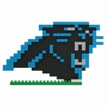 Carolina Panthers NFL 3D Logo BRXLZ Puzzle By Forever Collectibles