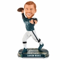 Carson Wentz (Philadelphia Eagles) 2017 NFL Headline Bobblehead Forever Collectibles