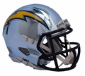 Los Angeles Chargers NFL Chrome Speed Mini Helmet by Riddell