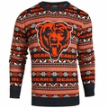 Chicago Bears Aztec NFL Ugly Crew Neck Sweater by Forever Collectibles