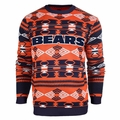 Chicago Bears Aztec NFL Ugly Crew Neck Sweater