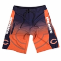Chicago Bears Gradient NFL Board Shorts