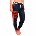 Chicago Bears NFL Poly Fleece Women's Jogger Pant by Klew