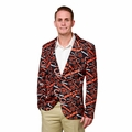 Chicago Bears NFL Ugly Business Sport Coat Repeat Logo by Forever Collectibles