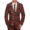 Chicago Bears NFL Repeat Logo Ugly Business Suit by Forever Collectibles