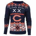 Chicago Bears NFL Super Bowl Commemorative Crew Neck Sweater