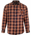 Chicago Bears Wordmark Mens Long Sleeve Flannel Shirt