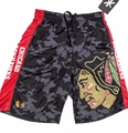 Chicago Blackhawks NHL Big Logo Polyester Short