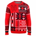 Chicago Blackhawks NHL Patches Ugly Sweater by Klew