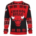 Chicago Bulls Big Logo NBA Ugly Sweater