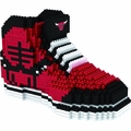 Chicago Bulls NBA 3D Sneaker BRXLZ Puzzle By Forever Collectibles