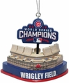 Chicago Cubs 2016 World Series Champions Stadium Ornament