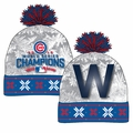 Chicago Cubs 2016 World Series Champions W Light Up Beanie