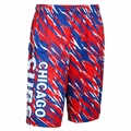 Chicago Cubs MLB Repeat Print Polyester Shorts By Forever Collectibles