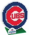 Chicago Cubs MLB 2016 World Series Champions 3D Logo BRXLZ Puzzle