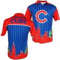 Chicago Cubs MLB Polyester Short Sleeve Thematic Polo Shirt