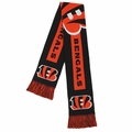 Cincinnati Bengals NFL Big Logo Scarf By Forever Collectibles
