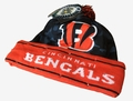 Cincinnati Bengals NFL Camouflage Light Up Printed Beanies