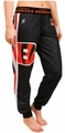 Cincinnati Bengals NFL Poly Fleece Women's Jogger Pant by Klew