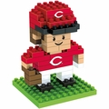"Cincinnati Reds MLB 3D 2"" Player BRXLZ Puzzle By Forever Collectibles"