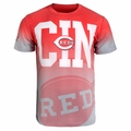 Cincinnati Reds MLB Gray Gradient Tee by Forever Collectibles