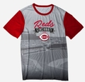 Cincinnati Reds Outfield Photo Tee by Forever Collectibles