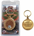 Citi Field (New York Mets) Infield Dirt Coin Keychain