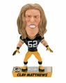 Clay Matthews (Green Bay Packers) 2017 NFL Caricature Bobble Head by Forever Collectibles