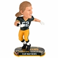 Clay Matthews (Green Bay Packers) 2017 NFL Headline Bobble Head by Forever Collectibles