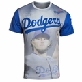 Clayton Kershaw (Los Angeles Dodgers) Watermark MLB Player Tee