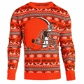Cleveland Browns Aztec NFL Ugly Crew Neck Sweater by Forever Collectibles
