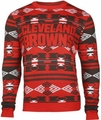 Cleveland Browns Aztec NFL Ugly Crew Neck Sweater
