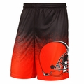 Cleveland Browns NFL Gradient Polyester Shorts By Forever Collectibles