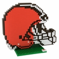 Cleveland Browns NFL 3D Logo BRXLZ Puzzle By Forever Collectibles