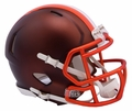Cleveland Browns Riddell Blaze Alternate Speed Mini Helmet