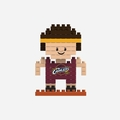 Cleveland Cavaliers NBA 3D Player BRXLZ Puzzle By Forever Collectibles