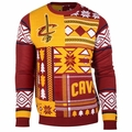 Cleveland Cavaliers NBA Patches Ugly Sweater by Klew