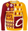 Cleveland Cavaliers NBA Ugly Sweater Busy Block