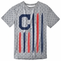 Cleveland Indians Big Logo Flag Tee by Forever Collectibles